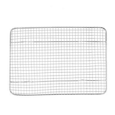 Quarter-Size Footed Cooling Rack for Bun / Sheet Pan - 8 1/2