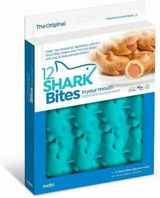 Mobi® 12 Shark Bites™ Silicone Baking Mold