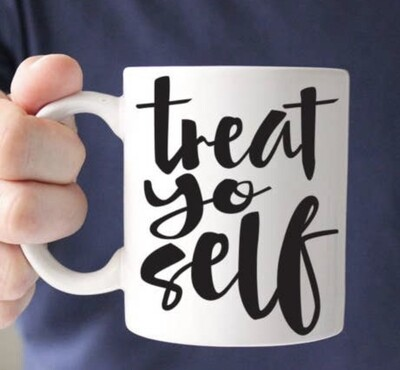 Quotable Life™ Treat Yo Self 11 oz. Mug
