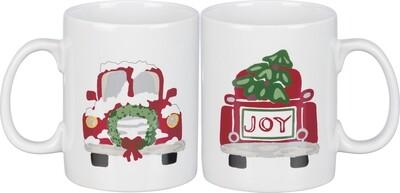 20 oz. Stoneware Christmas Joy Mug