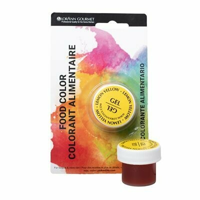 Lorann Oils® Lemon Yellow Gel Food Coloring