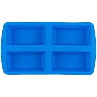 Wilton Easy-Flex Silicone 4-Compartment Mini Loaf Pan