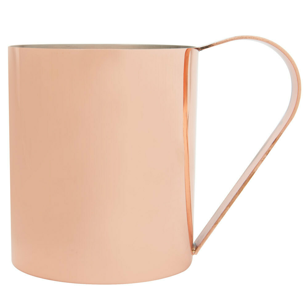 14 oz. Straight Sided Copper Moscow Mule Mug