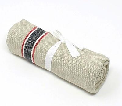 Mahogany® Black French Laundry Kitchen Towel