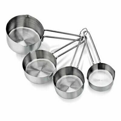 Cuisipro® Stainless Steel Measuring Cup Set with Wire Handles