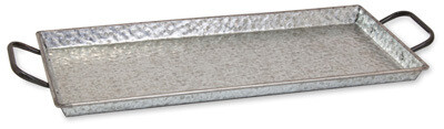 Rectangle Hammered Tray
