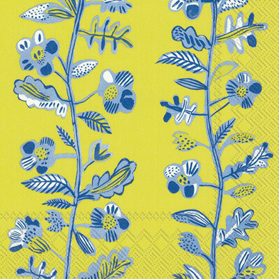 Summer Annica Lime Lunch Napkins