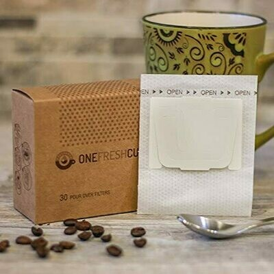 One Fresh Cup® Pour-Over Coffee Filters