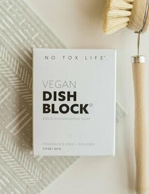 No Tox Life™️ Zero-Waste Vegan Dish Block®