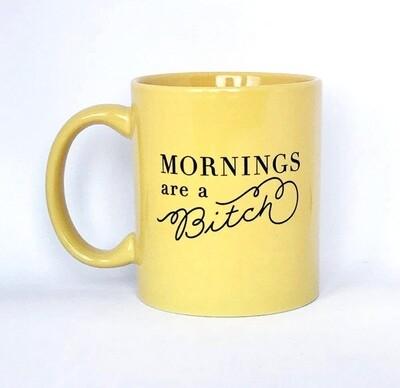 Mornings Are A B!#@$ Stoneware Mug