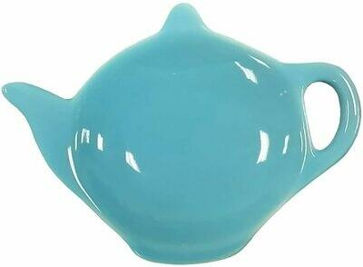 Omniware™ Teal Ceramic Tea Caddy & Infuser Holder