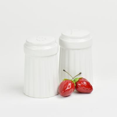 Omniware™ White Ceramic Simsbury Salt & Pepper Shaker Set