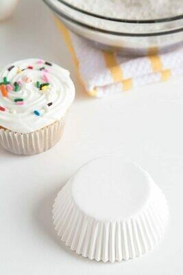 Fox Run® Standard Size White Muffin / Cupcake Liners