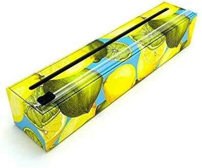 ChicWrap®️ Lemons Plastic Wrap & Dispenser