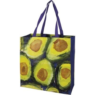 Avocado Printed Market Tote