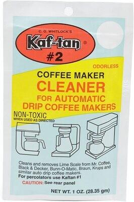 Kaf-Tan™ #2 Coffee Maker Cleaner & Descaler