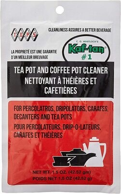 Kaf-Tan™ #1 Coffee Pot & Tea Pot Cleaner