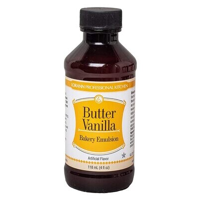 Lorann Oils® Butter Vanilla Bakery Emulsion