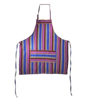 Handmade Guatemalan Ikat Apron - Assorted Colors / Styles