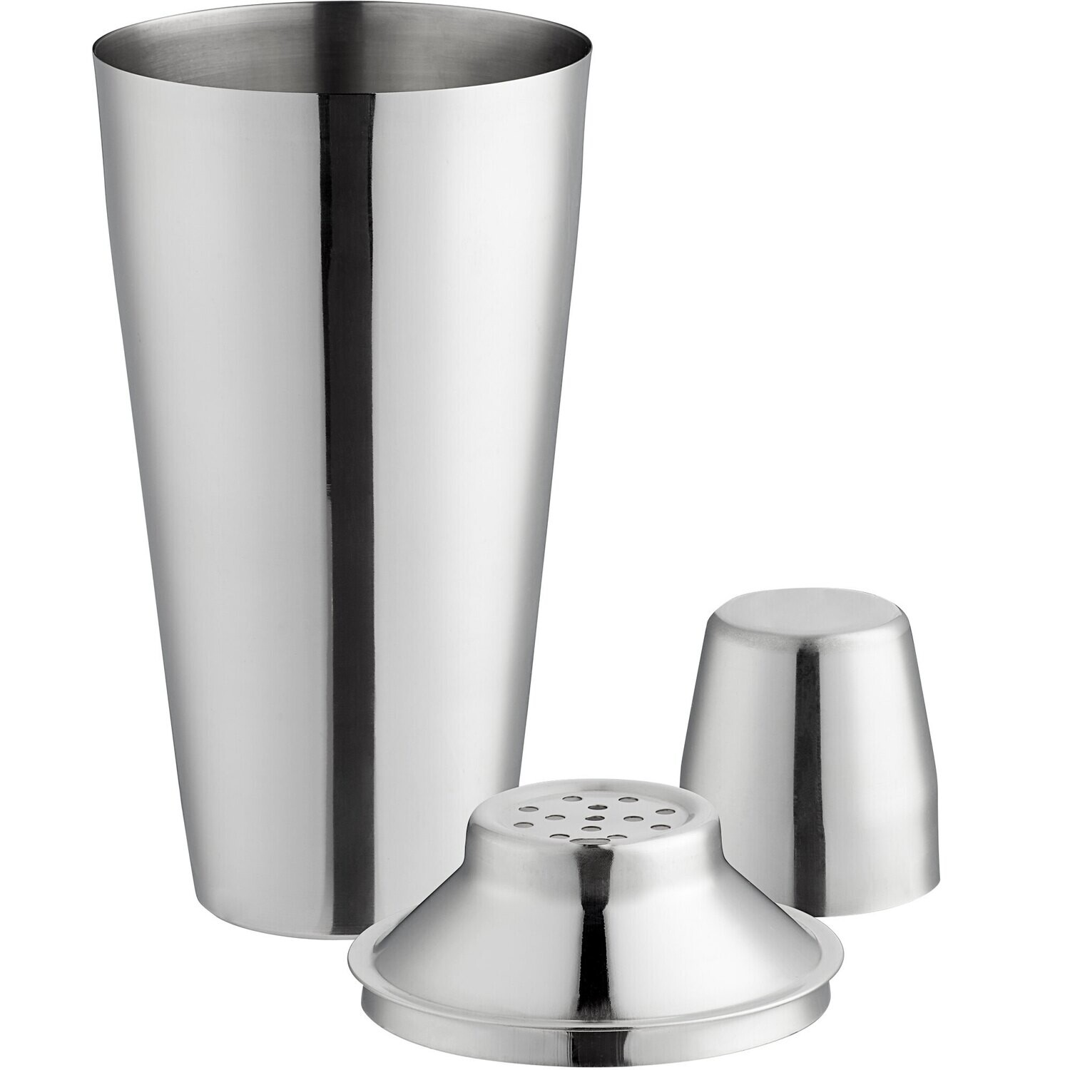 3-Piece Stainless Steel 28 oz. Cocktail Shaker