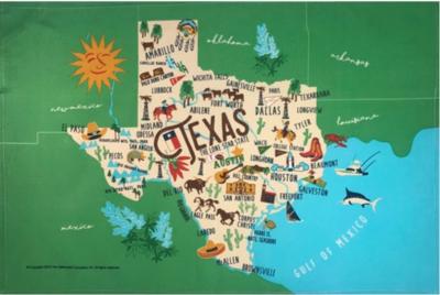 Galleyware™ Texas Cotton Kitchen Towel