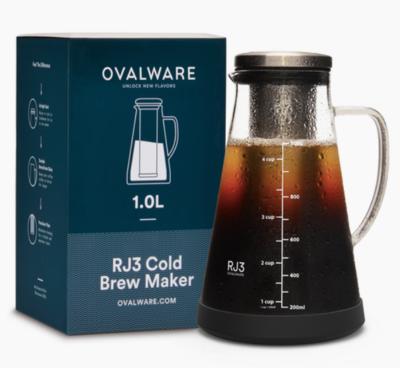 Ovalware® RJ3 Cold Brew Coffee Maker