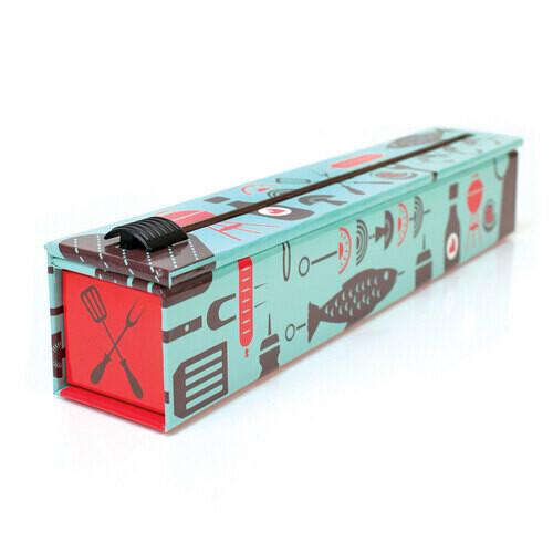"""ChicWrap® BBQ Tools Aluminum Foil Dispenser 12"""" x 30'"""