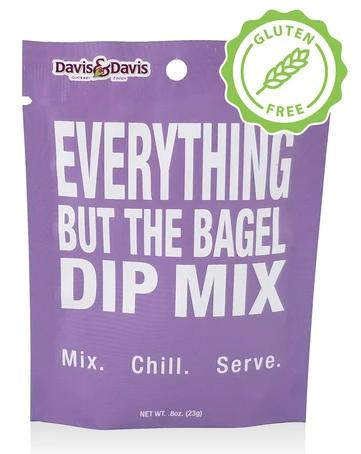 Davis & Davis Gourmet® Everything But The Bagel Dip Mix