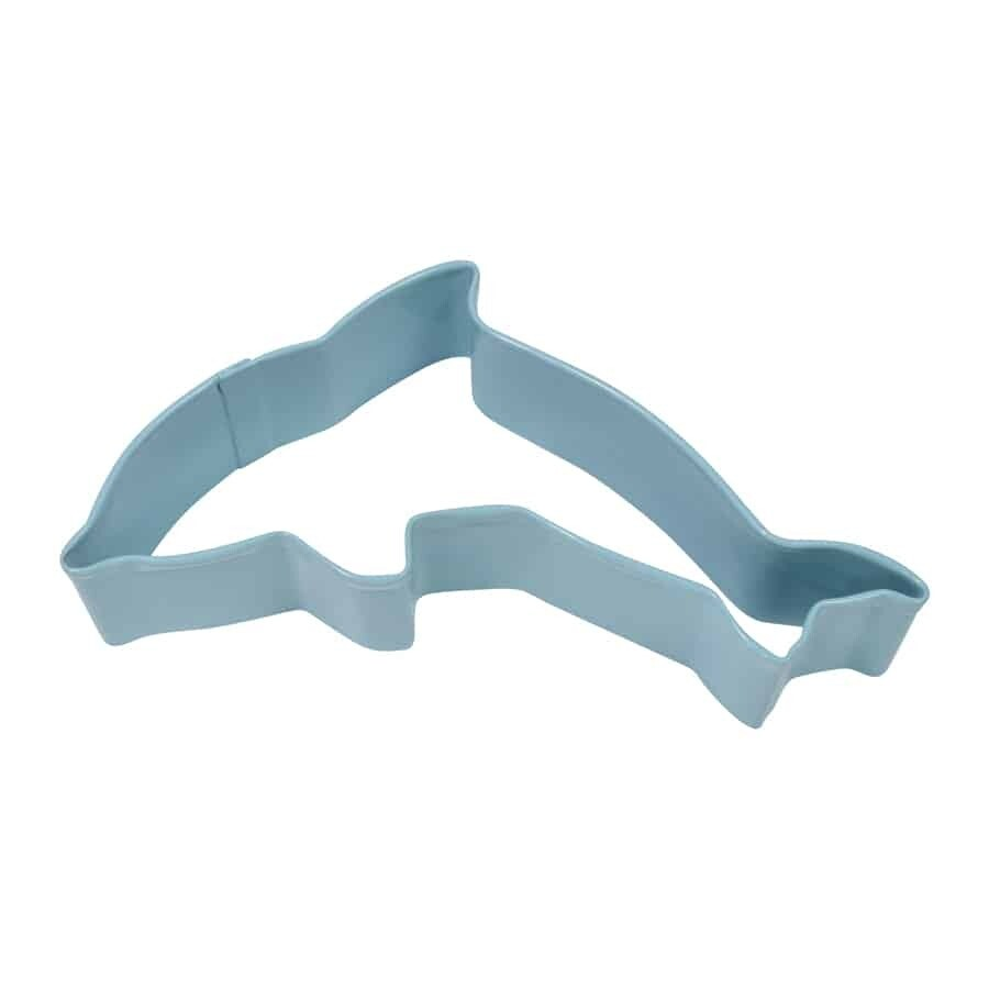"""Blue Dolphin Cookie Cutter 4.5"""""""