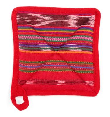 Fair-Trade Handmade Fiesta Red Pot Holder