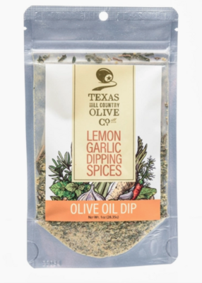 TX Hill Country Olive Oil Co.® Lemon Garlic Dipping Spices