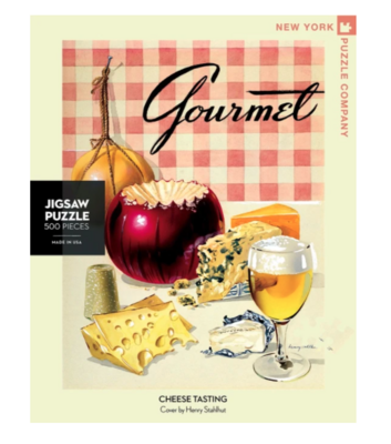 New York Puzzle Company™ Cheese Tasting Jigsaw Puzzle