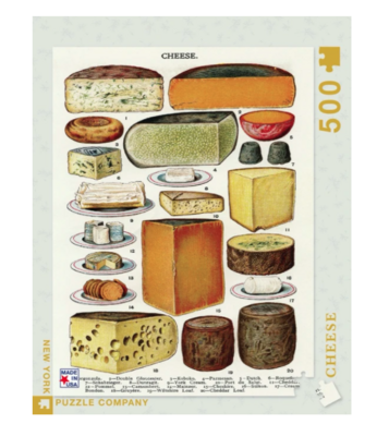 New York Puzzle Company™ Cheeses Jigsaw Puzzle