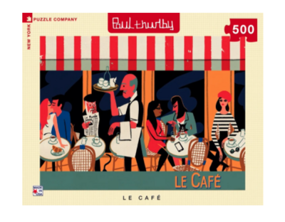 New York Puzzle Company™ Le Cafe Jigsaw Puzzle