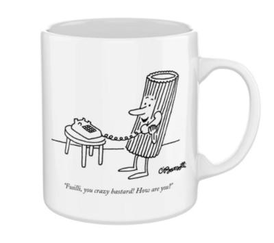 New York Puzzle Company™ Pasta Cartoons Mug