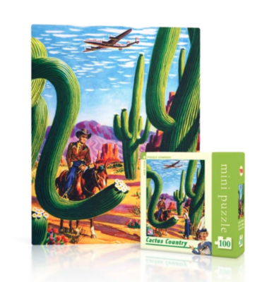 New York Puzzle Company™ Cactus Country Mini Puzzle