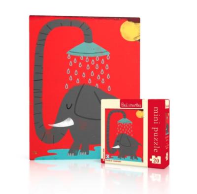 New York Puzzle Company™ Elephants Mini Puzzle