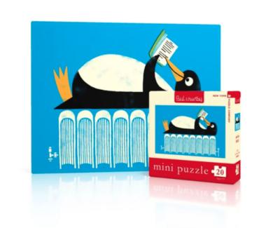 New York Puzzle Company™ Winter Reads Mini Puzzle