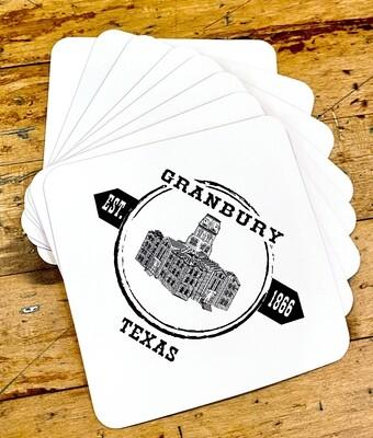 ★ Signature Granbury, Texas Silicone Gripper Coaster