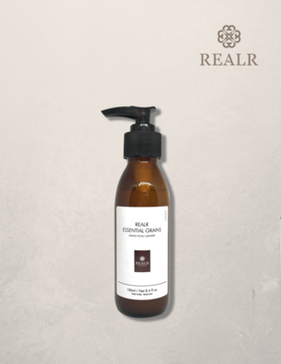 Essential grains gentle facial cleanser