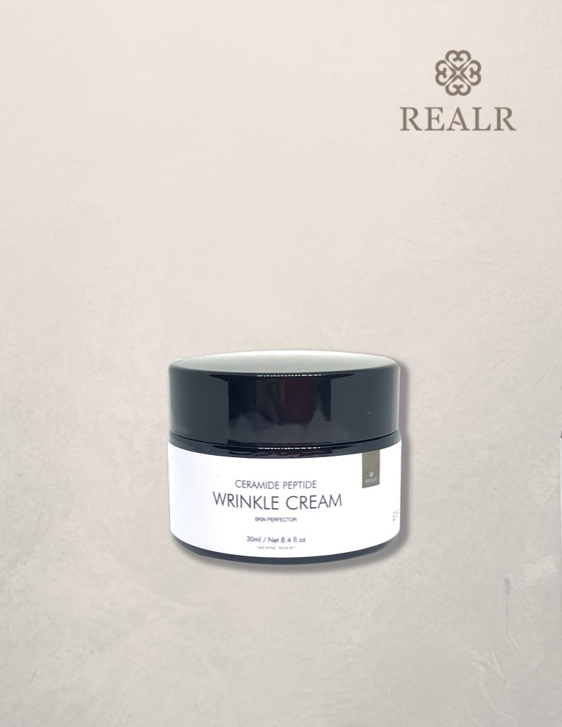 Ceramide peptide wrinkle cream