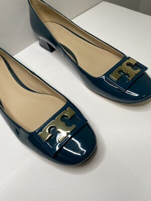 "Tory Burch "" Gigi Rounded Toe Flat """