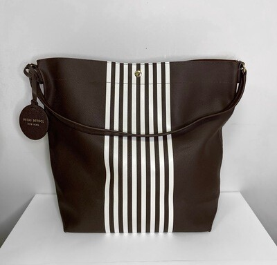Henri Bendel Brown Tote