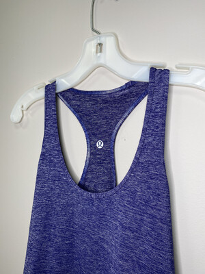 Women's Purple Lululemon Athletic Tank Top