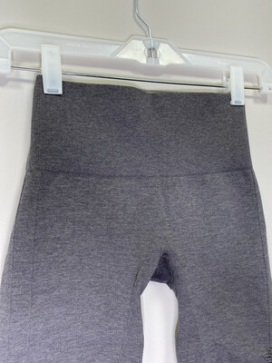 Women's Gray Lululemon Athletic Capri Cropped Legging