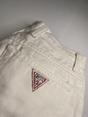 Women's Guess White Skinny Jeans Sz 27
