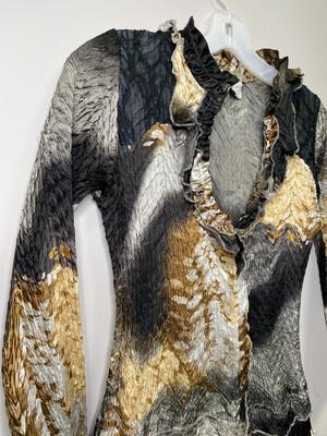 Alberto Makali Women's Size 8 Blouse
