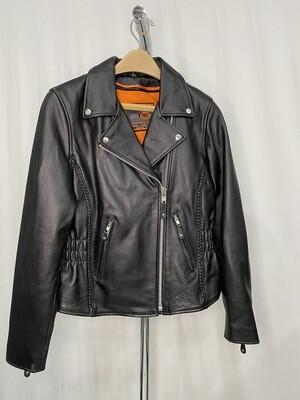 Division Of First Manufacturing Co Inc Leather Motorcycle Jacket