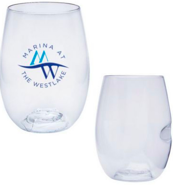 Stemless and Shatterproof Wine Glasses