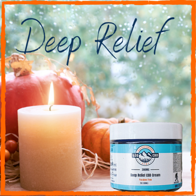 Deep Relief CBD Cream